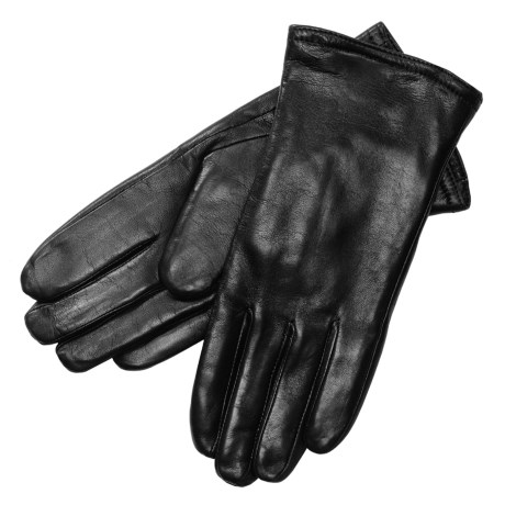 Auclair Pittard Sheepskin Gloves - Thinsulate® (For Women) in Black