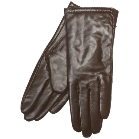 Auclair Pittard Sheepskin Gloves - Thinsulate® (For Women) in Brown