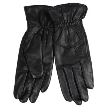 Auclair Pittards C40 Leather Gloves - Insulated, Fleece Lined (For Women) in Black - Closeouts