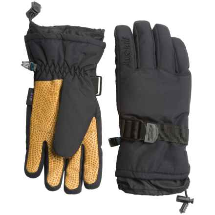 Auclair Plain and Simple Gloves - Insulated (For Women) in Black/Black - Closeouts