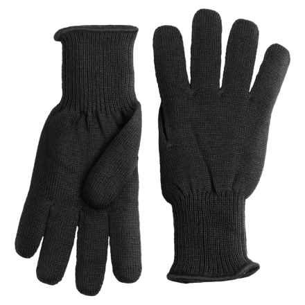 Auclair Polypro Liner Gloves (For Women) in Black - Closeouts