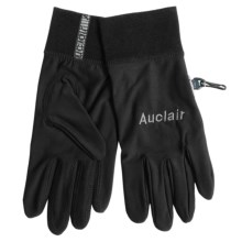 Auclair Polytex Fleece Liner Gloves (For Men) in Black - Closeouts