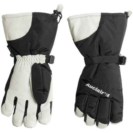 Auclair Powder Country 2 Gloves - Waterproof, Insulated (For Men) in Black/White - Closeouts