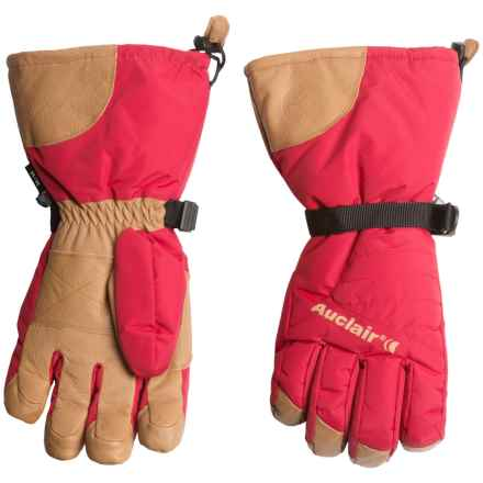 Auclair Powder Country 2 Gloves - Waterproof, Insulated (For Men) in Burnt Red/Palomino - Closeouts