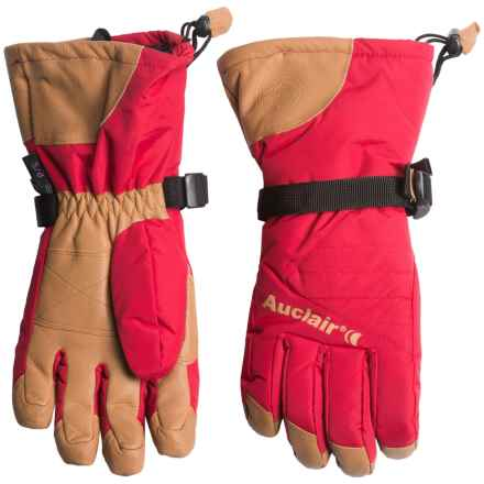 Auclair Powder Country 2 Gloves - Waterproof, Insulated (For Women) in Burnt Red/Palomino - Closeouts