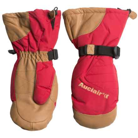 Auclair Powder Country 2 Mittens - Waterproof, Insulated (For Women) in Burnt Red/Palomino - Closeouts