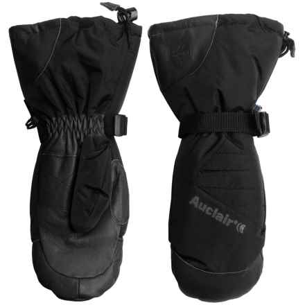 Auclair Powder Country 2 Ski Mittens - Waterproof, Insulated (For Men) in Black/Black - Closeouts