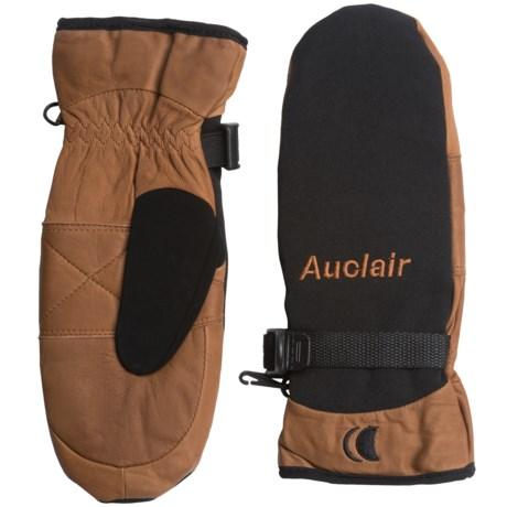 Auclair PrimaLoft® One Randonneur Mittens - Waterproof, Insulated (For Women) in Black/Brown