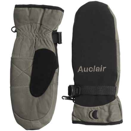Auclair PrimaLoft® One Randonneur Mittens - Waterproof, Insulated (For Women) in Black/Grey - Closeouts