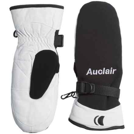 Auclair PrimaLoft® One Randonneur Mittens - Waterproof, Insulated (For Women) in Black/White - Closeouts