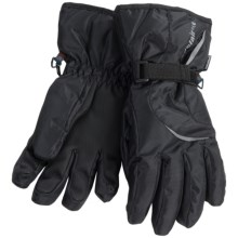 Auclair Reflective Trim Gloves (For Men) in Black - Closeouts