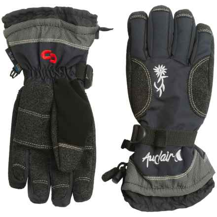 Auclair Rose Ryder Gloves - Insulated (For Women) in Black - Closeouts