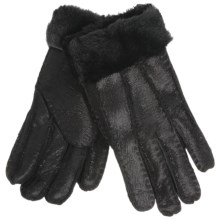 Auclair Shearling Gloves (For Women) in Black - Closeouts
