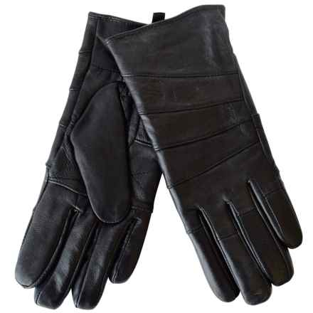 Auclair Sheepskin Gloves (For Women) in Black - Closeouts
