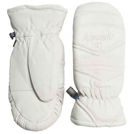 Auclair Snow Baby Mittens - Insulated (For Women) in White - Closeouts