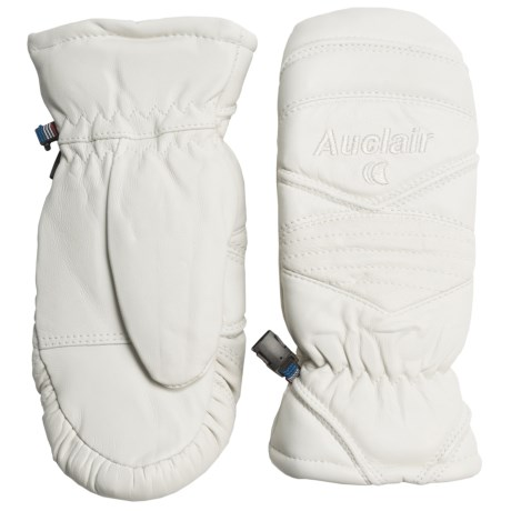 Auclair Snow Baby Mittens - Insulated (For Women) in White