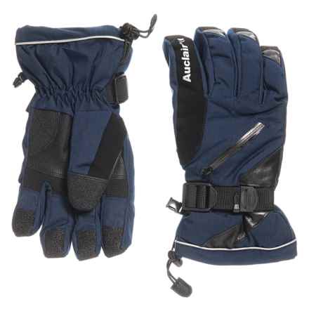 Auclair Snowmass Gloves - Waterproof, Insulated (For Men) in Navy - Closeouts