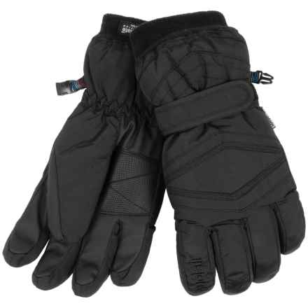 Auclair Taos Gloves - Waterproof, Insulated (For Men) in Black - Closeouts