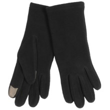 Auclair Texter Fleece Gloves - Touchscreen Compatible (For Women) in Black - Closeouts