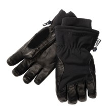 Auclair Total Soft Goatskin Gloves - Insulated (For Men and Women) in Black - Closeouts