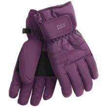 Auclair Utah Ski Gloves - Waterproof, Insulated (For Women) in Plum - Closeouts