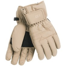 Auclair Utah Ski Gloves - Waterproof, Insulated (For Women) in Vanilla - Closeouts