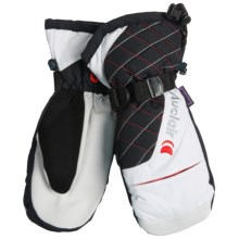 Auclair Volcanic Ice Mittens - Waterproof, Insulated (For Women) in White/Black/Red - Closeouts