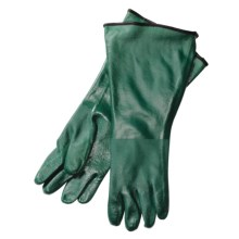 "Auclair Waterproof PVC Gloves - Insulated, 17""  (For Men) in Green - Closeouts"