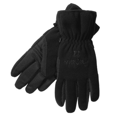 Auclair Windblock Fleece Gloves - Insulated (For Women) in Black
