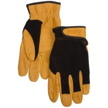 Auclair Work Gloves (For Men) in Black/Gold - Closeouts