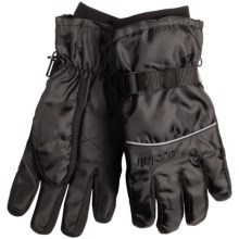Auclair Wyoming Gloves - Waterproof, Insulated (For Men) in Black/Black - Closeouts