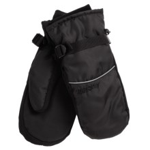 Auclair Wyoming Ski Mittens - Waterproof, Insulated (For Men) in Black/Black - Closeouts