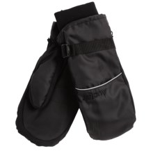 Auclair Wyoming Ski Mittens - Waterproof, Insulated (For Women) in Black/Black - Closeouts