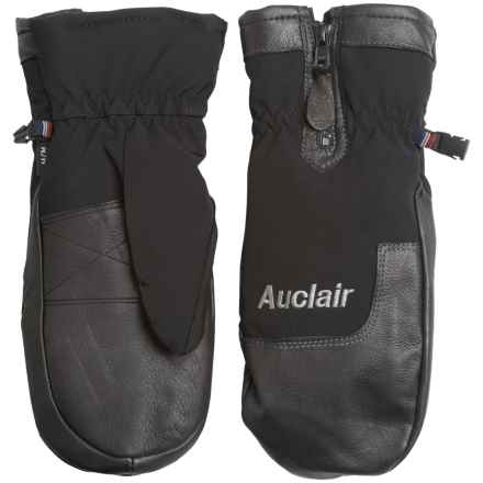Auclair Zugspitze Mittens (For Men) in Black/Black - Closeouts