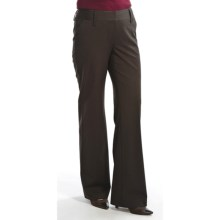 Audrey TalboAudrey Talbott Hank Pinstripe Pants - Stretch Wool (For Women) in Port - Closeouts