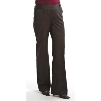 Audrey TalboAudrey Talbott Hank Pinstripe Pants - Stretch Wool (For Women) in Port