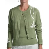 Audrey Talbott Aloe Crop Cardigan Sweater (For Women)