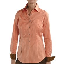 Audrey Talbott Aly Classic Shirt - Stretch Cotton, Long Sleeve (For Women) in Vintage - Closeouts