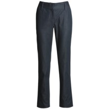 Audrey Talbott Hans Pants - Cotton, Straight Leg (For Women) in Regatta Denim - Closeouts