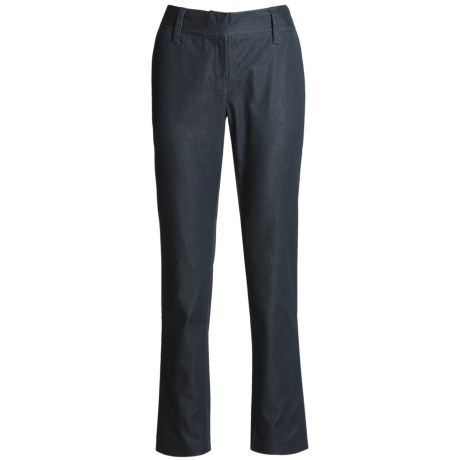 Audrey Talbott Hans Pants - Cotton, Straight Leg (For Women) in Regatta Denim