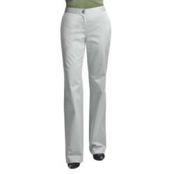 Audrey Talbott Hathaway Pants - Trouser Leg, Stretch Cotton (For Women) in White Lava