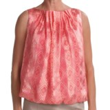 Audrey Talbott Henna Silk Shirt - Sleeveless (For Women)