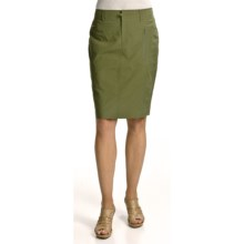 Audrey Talbott Houlihan Trouser Skirt - Microfiber Stretch (For Women) in Rosemary - Closeouts