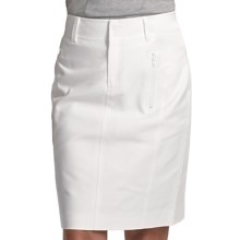 Audrey Talbott Houlihan Trouser Skirt - Stretch Cotton (For Women) in White - Closeouts