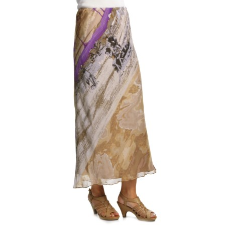 Audrey Talbott Itsy Silk Convertible Skirt-Dress - Obi Sash (For Women) in Multi