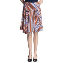 Audrey Talbott Lindsy Skirt - Cotton-Silk (For Women) in Multi - Closeouts