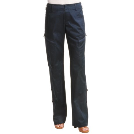 Audrey Talbott Lotus Pants- Stretch Cotton (For Women) in Regatta
