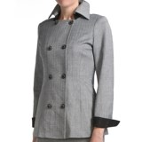 Audrey Talbott Margete Herringbone Jacket - Double Breasted (For Women)