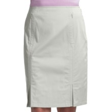 Audrey Talbott Rielle Pencil Skirt - Stretch Cotton (For Women) in White Lava - Closeouts