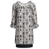 Audrey Talbott Rose Bubble Dress - Silk Chiffon, 3/4 Sleeve (For Women)